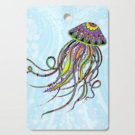 Electric Jellyfish Cutting Board