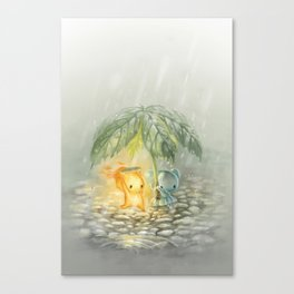 Cover from the Rain Canvas Print