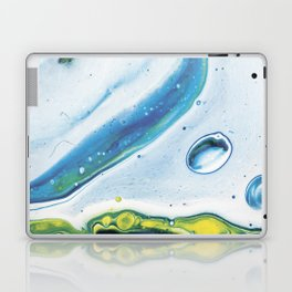 Blue green abstract Laptop & iPad Skin