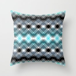 chequered dreams Throw Pillow