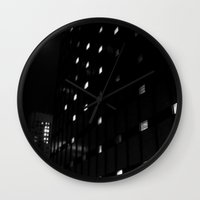astronomy Wall Clocks featuring Modern Astronomy by Christine - 9th Cycle Studios