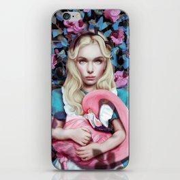 """Alice in Wonderland"" by Giulio Rossi iPhone Skin"