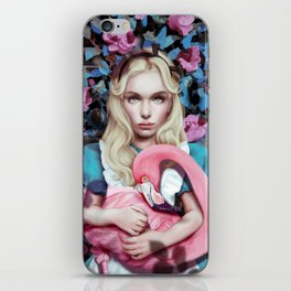 """Alice in Wonderland"" by Giulio Rossi iPhone Skin"