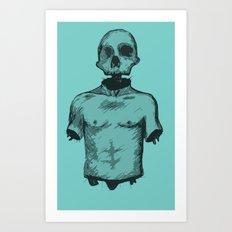 Skullboy Art Print