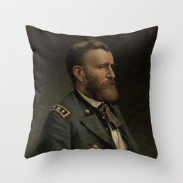 General Grant - American Civil War Throw Pillow