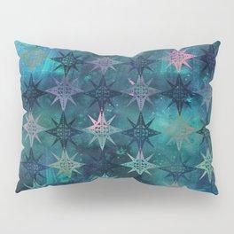 Bohemian Night Skye - Green Pillow Sham
