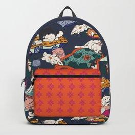 Lounging Shibas Backpack