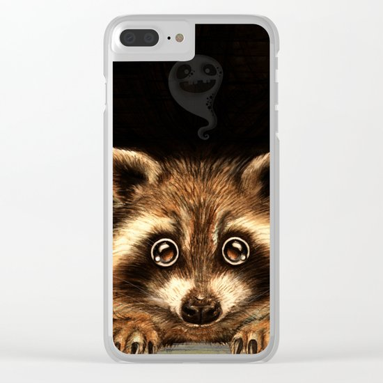 Behind you Clear iPhone Case