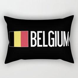 Belgium: Belgian Flag & Belgium Rectangular Pillow