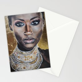 Graceful Ebony Stationery Cards