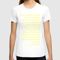 wes anderson T-shirts featuring Life Aquatic Steve Zissou Wes Anderson Movie Quote by FountainheadLtd