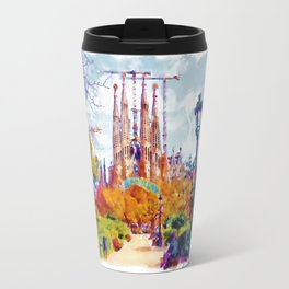 La Sagrada Familia - Park View Travel Mug