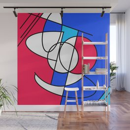 Problem Face Wall Mural