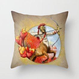Sagittarius -Zodiac Sign Throw Pillow