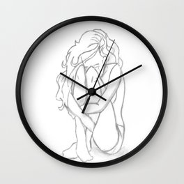 Alone I break Wall Clock