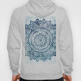 BLUE JEWEL MANDALA Hoody