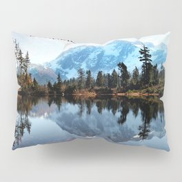 Mt Shuksan-adventure Pillow Sham