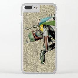 Starwars Boba Fett Clear iPhone Case