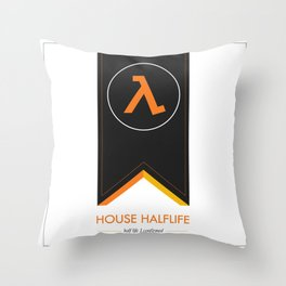 halflife 3 confirmed Throw Pillow