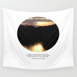 Columbiaville Sunset Wall Tapestry