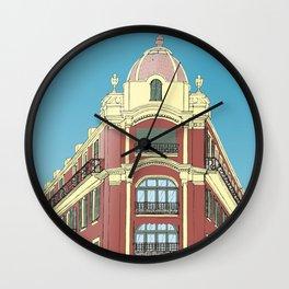 Building in Nice Wall Clock