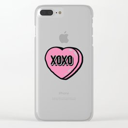 XOXO Heat Candy Clear iPhone Case