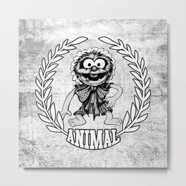 Classic Baby Animal Fashion Icon 2013 Metal Print