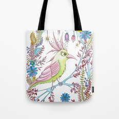 exotic bird Tote Bag