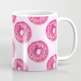 Pink Donuts Coffee Mug