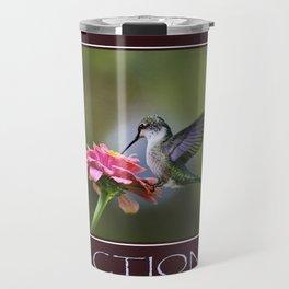 Inspirational Action Travel Mug