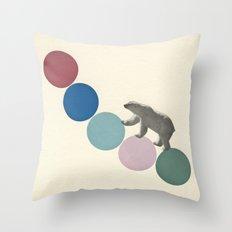 High Climber Throw Pillow