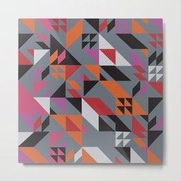 Modern Pattern No. 275 Metal Print