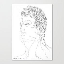 Ritratto di Fantasia Canvas Print