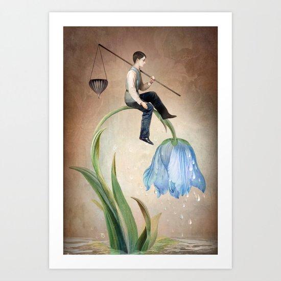 The Gift of Rain Art Print