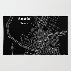 Vintage Austin Negative Rug