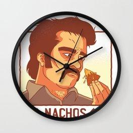 nachos drug lord  Wall Clock
