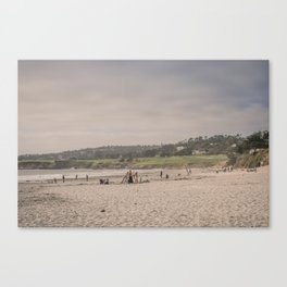 Carmel-by-the-sea beach Canvas Print