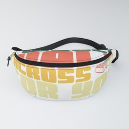 I Would Walk Across Toy Bricks For You Anniversary Gifts Fanny Pack