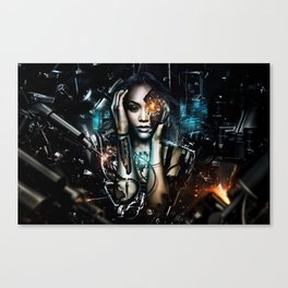 Android Production Canvas Print