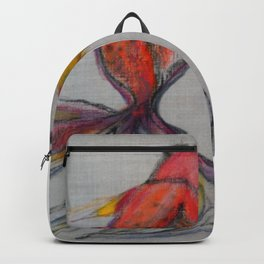 Goldfish Pond (close up#2) #society6 #decor #buyart Backpack