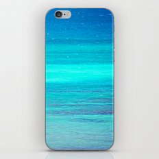 The Turquoise Sea iPhone & iPod Skin