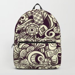 casino doodle Backpack