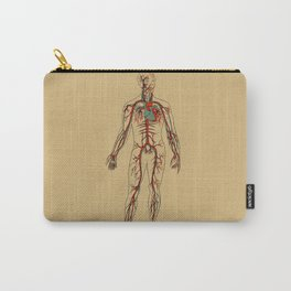 Circulatory System 2 Carry-All Pouch