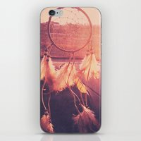 dream catcher iPhone & iPod Skins featuring Dream Catcher by Whitney Retter