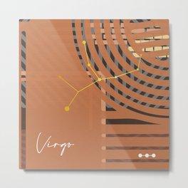 Virgo Design Metal Print