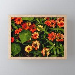 Garden of Flowers Framed Mini Art Print
