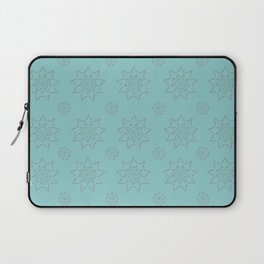 3D Texture Turquoise - Pointilism Pattern Laptop Sleeve