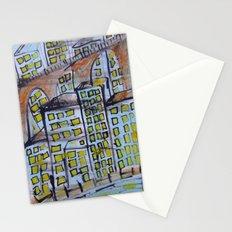 City scape. Stationery Cards
