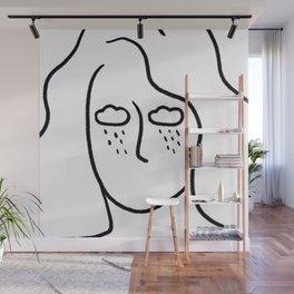 rainy soul Wall Mural