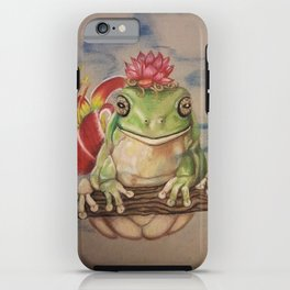 Wise Frog iPhone Case